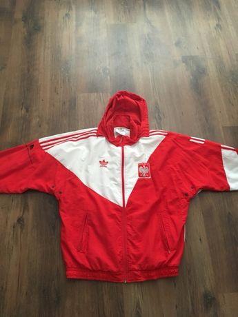 super promocje lepszy wyprzedaż resztek magazynowych Oryginalny dres olimpijski adidas reprezentacji Polski z ...
