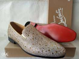 Crystal stud CL loafers