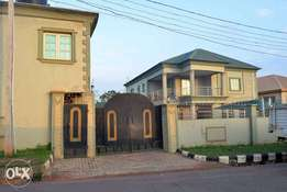 Duplex with 2bedroom flat and BQ at Akure