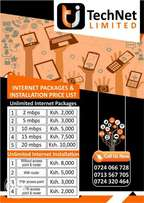 Cheap Home & Office internet WiFi