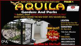 Aquila Gardens & Parks. Slashed Price On Just 6 Plots!