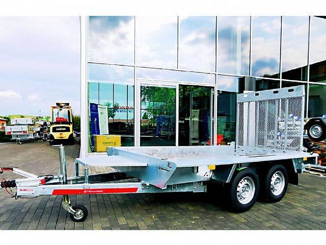 Baumaschinen-Transporter|2700Kg|3,5x1,6m|2 Achsen