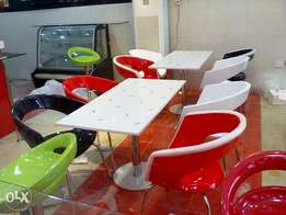 Imported executive restaurant tables and chairs