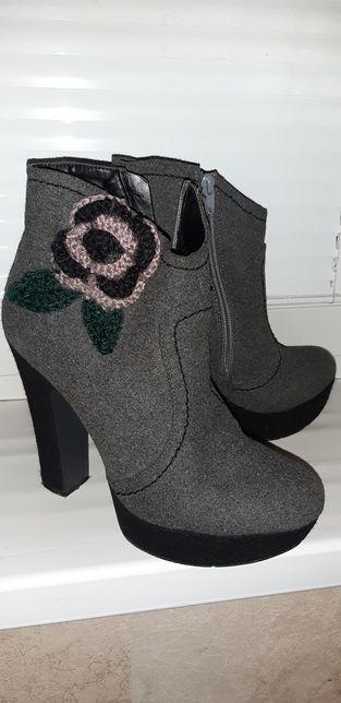 Полусапоги (ботинки) демисезонные (размер 40 59f062e2139f2
