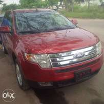 Tincan Cleared Ford Edge, 2008, 2-Row Leather Seat, Very OK