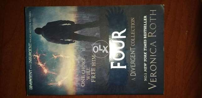 Four: A Divergent Collection- Veronica Roth (perfect condition)