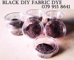 Black and Navy Clothes Dye