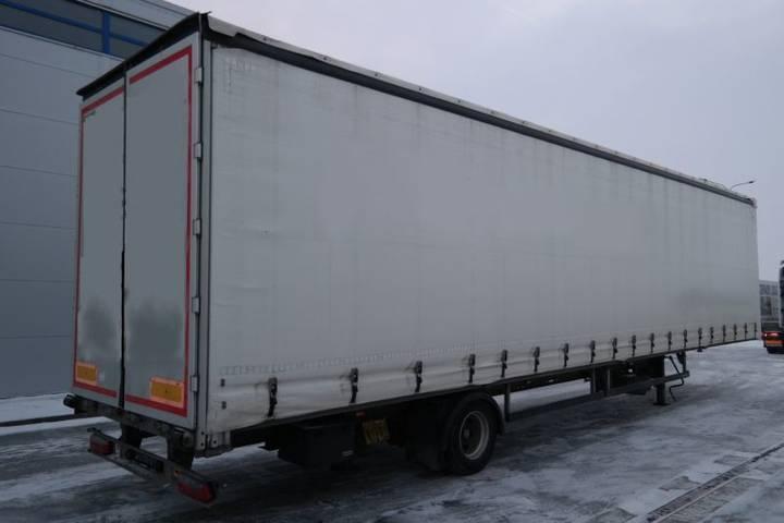 Svan nch101  curtain side semi-trailer - 2016