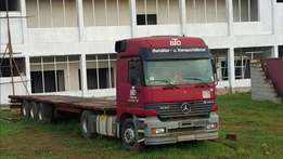 Mercedes-Benz Actros 1840 at 85m UAT perfect condition