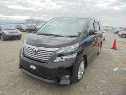 Toyota / VELLFIRE CHASSIS # ANH20-813 year 2010