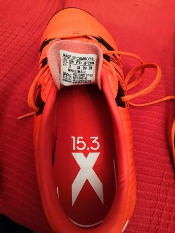 Buty halowe ADIDAS X15.4 ST Junior