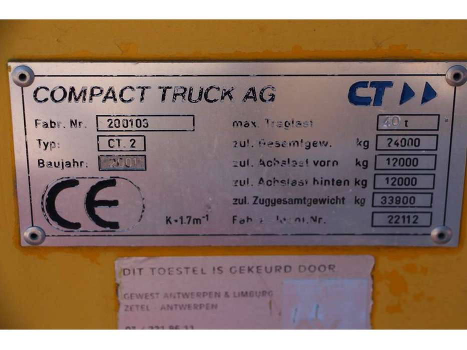 COMPACT TRUCK CT2 - 2001 - image 6