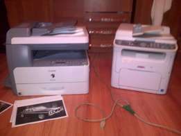 1x cannon IR 1024IF and 1x OkI MC160N color printer