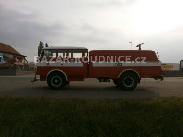 Škoda 706 RT (ID 9519)  airport fire truck - 1962
