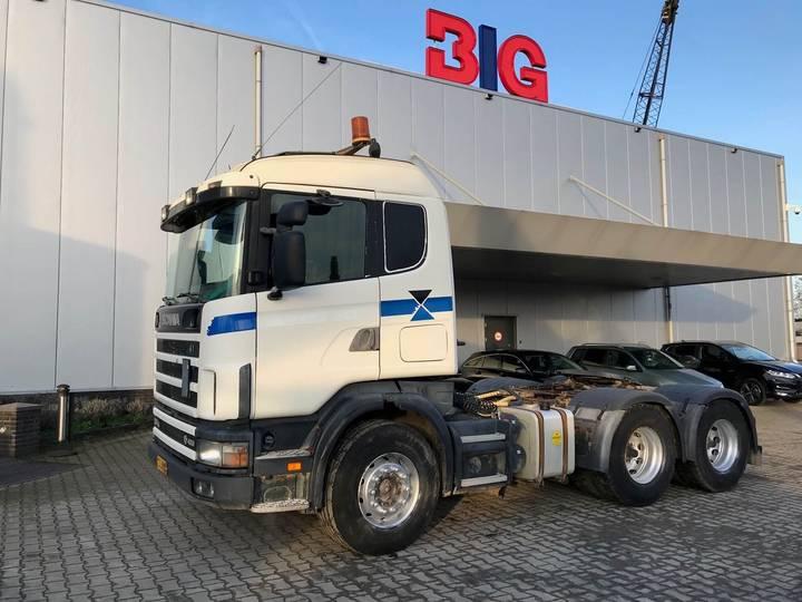 Scania 164G 480 6x4 v8 - 2001