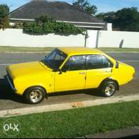 Ford Escort mk2 1.6L swop or sell