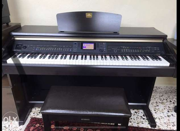 PIano Yamaha Glavinova CVP-501 LIKE NEW