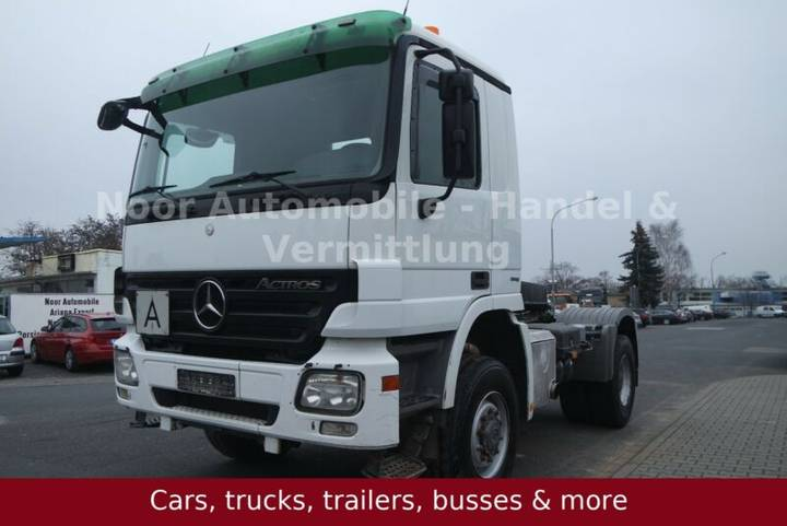 Mercedes-Benz Actros II 2048 AS L BB 4x4 *E5u002F3-Pedalu002FRetarder - 2009
