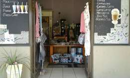 Gift Shop and Tea Garden for sale