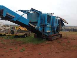 Used 2005 Pegson 1100x650 Premtrak Mobile Jaw Crusher