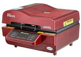 We stock all kinds of heat press machines be it 3D,5in1,Flatbed,8in1