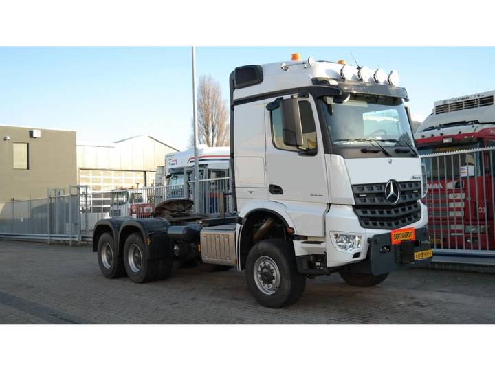 Mercedes-Benz AROCS 3352 180 tons push and pull HEAVY DUTY 6X6 EURO 6 9... - 2016 - image 11