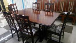 6/8 Seater Solid wood dinning table
