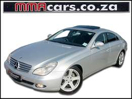 2006 MERCEDES BENZ CLS 350 7G-TRONIC with sunroof R159,890.00