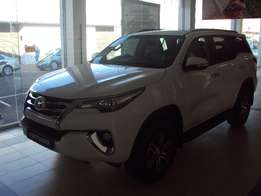 big bargains limited stock new Toyota fortuner 2.8GD-6 4X4 Manual call