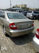 Clean Tokunbo TOYOTA CAMRY 2003 Model available