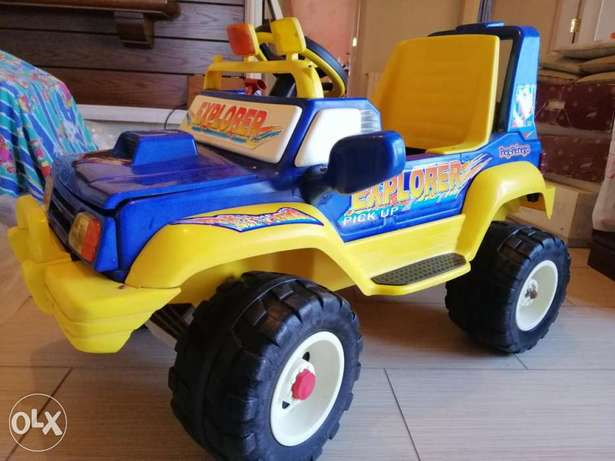 Jeep for kids rechargeable battery