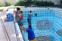 Swimming pool cleaning &re Marblite pool's