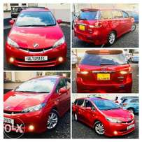 Toyota Wish Prime Grade Fully Loaded Sunroof For Sale 1,350,000/=