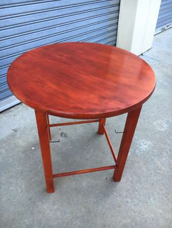Pine round tables - stained and varnished. Hout Bay - image 4