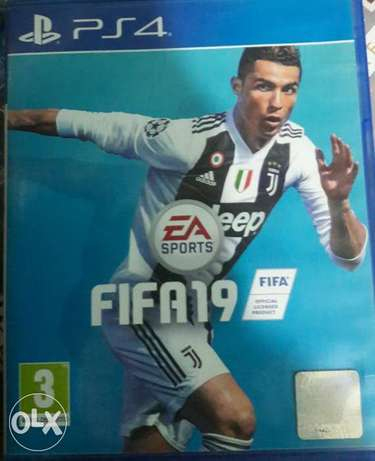 Fifa 19 arabic used for ps4