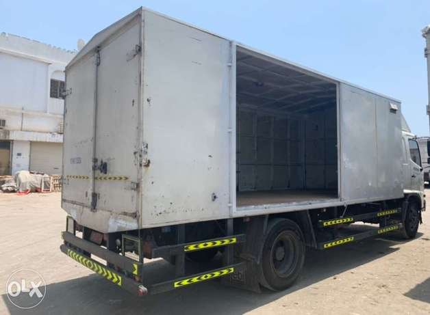 For Rent with Driver Monthly Contract New Model 7 ton Full covered trk