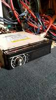 Flip - Up 9 inch Touch screen car radio.