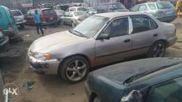 Toyota corolla first body fabric seat very thing working fine