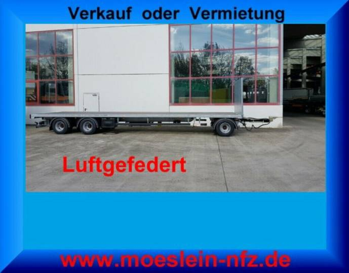 Möslein T 3 Plato 8,6 m 3 Achs Jumbo- Plato- Anhänger - 2019