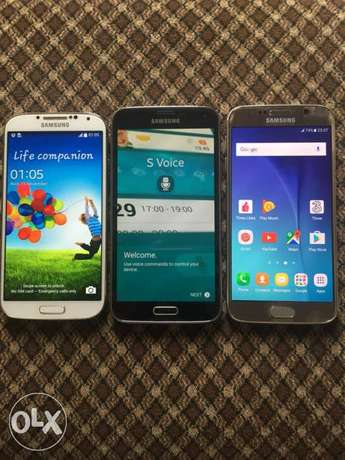 Cheap UK Samsung s6, s5, s4 for sale Ibadan North West - image 1