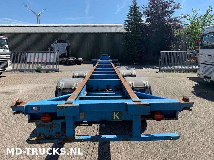 Trailor  container chassis 2 axle - 1970 - image 6