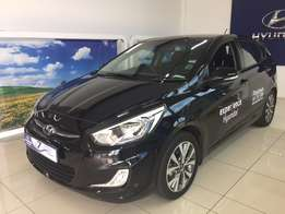 2017 Hyundai Accent 1.6 Fluid 5DR for R239990 or R4750p/m