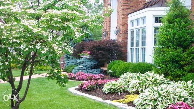 Garding and landscaping