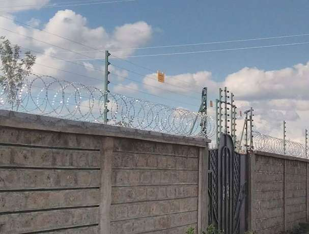 Electric fencing with both electric fence and razor wire Nairobi CBD - image 2