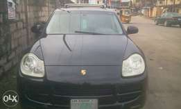 Registered Porsche cayenne 2005 model super clean full option