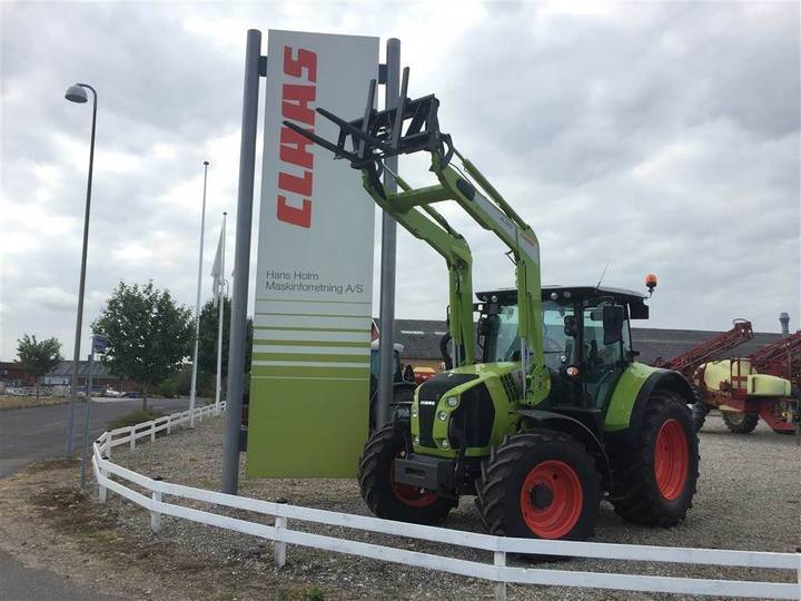Claas Arion 530 Cis M/ Fl 120 Frontlæsser - 2018