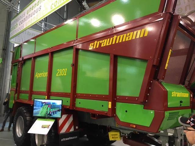 Strautmann Aperion 2101 Abladeband - 2019