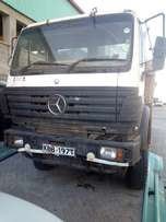 Asian Benz lorry