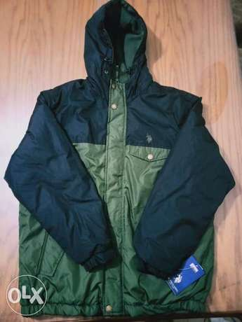 U S POLO ASSN men jacket from USA SIZE L