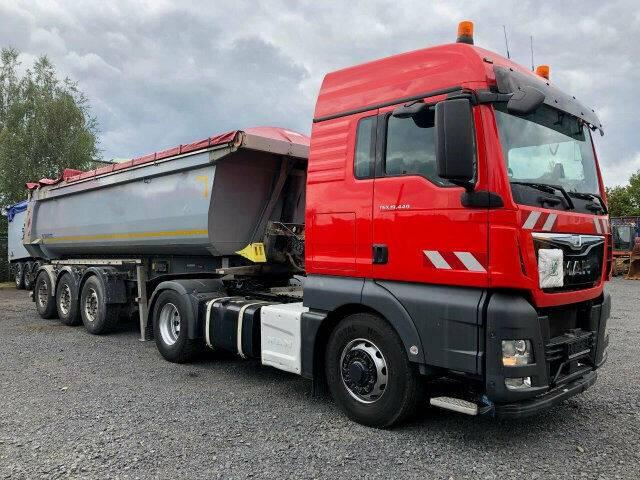 MAN TGX 18.440 4x4 SZM Hydrodrive - Kipphyd. Euro 6 - 2016